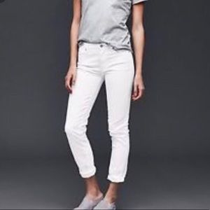 Gap Authentic Best Girlfriend white jean